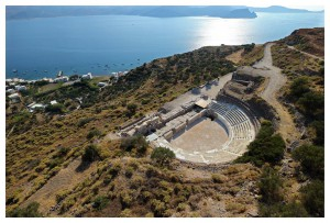ancient theater of Milos